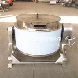 节能夹层锅蒸汽夹层锅工作原理衡石机械搅拌夹层锅