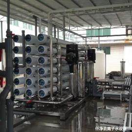 食品行业EDI装置双级RO反渗透纯水设备