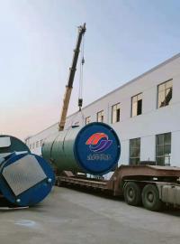 一体化污水提升泵站3x7.6m污水管网专用