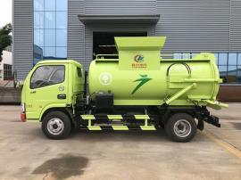 东风5方餐厨垃圾自卸运输车