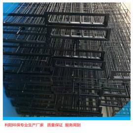 利阳环保梯形骨架扁骨架除尘器袋笼焊接牢固布筋均称结实耐用