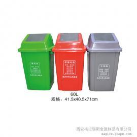 格拉瑞斯塑料垃圾桶厂 定制景区垃圾桶 户外环保垃圾桶 送货上门