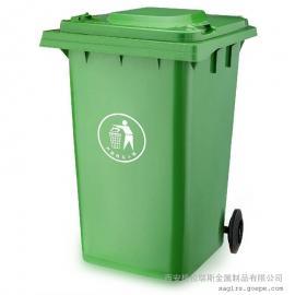 格拉瑞斯塑料垃圾桶厂 定制小区垃圾桶 户外带轮垃圾桶 送货上门