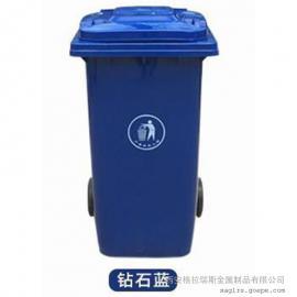 格拉瑞斯塑料垃圾桶厂 热卖景区环保垃圾桶 带轮垃圾桶 送货上门