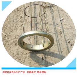 利阳环保镀锌除尘袋笼镀锌袋笼除尘笼骨不脱焊表面光滑焊接牢固
