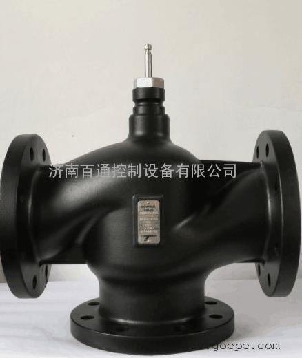 西门子混装电动三通温控阀 中央空调热水及生活热水专用