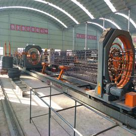 全自动钢筋笼滚焊机 数控钢筋笼加工设备 数控钢筋笼卷笼机