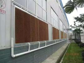 水帘降温养护步骤 钢构厂房水帘降温施工
