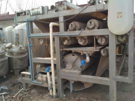 出售二手带式压滤机,二手污泥脱水机,二手污泥浓缩机 可定做