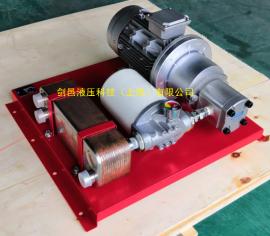 减速机齿轮箱专用型铜钎焊板式换热器油水换热冷却系统