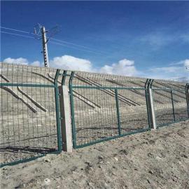 铁路围栏网-立交桥上的防护网|铁路热浸锌防护网现货