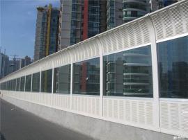 桥梁声屏障-都市高速公路上的隔音带制造商-高速吸音板报价