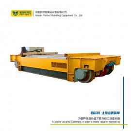 电动搬运斗提机轨道运输车 独立结构转弯轨道车