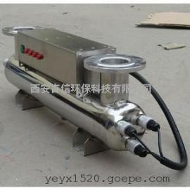 �r村�用水改造工程管道紫外�消毒器