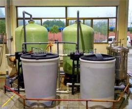 【江河环保】酒店锅炉软化水设备10吨|全自动软水器|润新控制阀