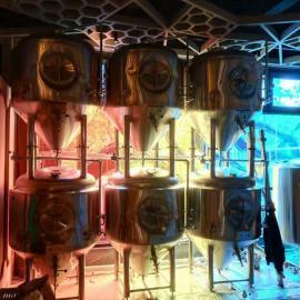 小型精酿啤酒厂北京赛车,自酿啤酒北京赛车500升不锈钢啤酒北京赛车