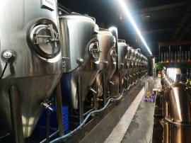 3000升大型精酿啤酒设备,德式原浆啤酒设备自酿鲜啤设备