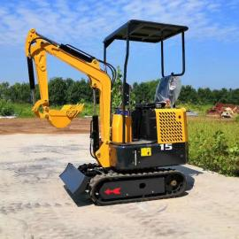 履带式迷你挖掘机 1.2吨小型液压挖掘机 小型挖掘机
