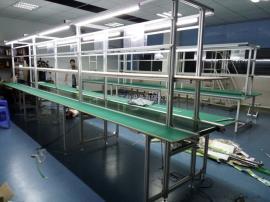 防静电工作台装配操作台车间生产流水线检验桌实验维修台定制