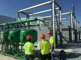 【江河环保】全自动浅层介质过滤器 循环水旁滤装置JH-QCS48 AGF