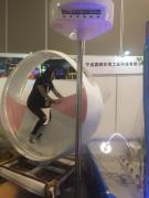 互动喷泉-嘉鹏不锈钢自行车喷泉自动发电DC24V-无外接电源