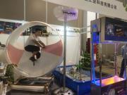 自行车互动水景-嘉鹏不锈钢烤漆造型互动喷泉-DC24V自动发电