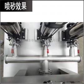 供水设备不锈钢表面处理喷砂机