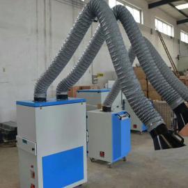制作单双臂移动式焊烟净化器旱烟除尘器隧道焊烟除尘器