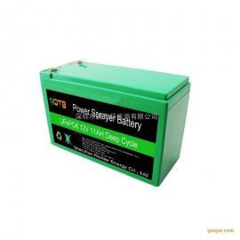 农用12V电动喷雾器电池 采茶机锂电池 18650割草机电池