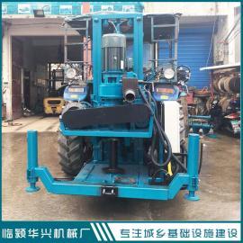 华兴5寸拖拉机带反循环钻机 小型反循环钻井机厂家