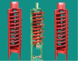 银锐选矿螺旋溜槽|工业螺旋溜槽|玻璃钢螺旋溜槽/实验室溜槽