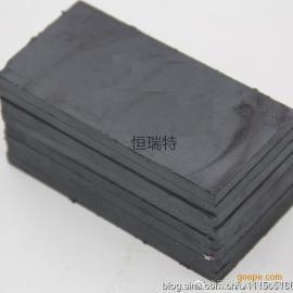 恒瑞特HRT-CT6磁性陶瓷片 6mm厚度耐磨贴片 抗磨新品耐磨陶瓷