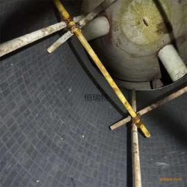 钢厂耐磨陶瓷 新品粉尘管道磁性陶瓷片 10mm厚度磁性耐磨贴片