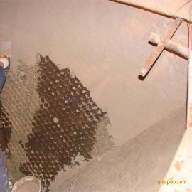 生物质发电厂烟道旋风除尘设备专用高强耐磨涂料 耐磨可塑料