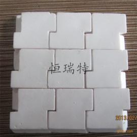 恒瑞特优质防脱耐磨陶瓷 互压耐磨陶瓷片 氧化铝陶瓷耐磨片