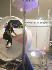 上海自行车互动喷泉-嘉鹏自立研空间美感造型互动漫步机