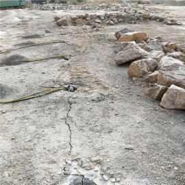 楼盘基础开挖岩石劈裂器