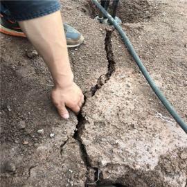 基坑开挖取代放炮开采石头设备
