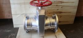 气动管夹阀GJ641X-6L碳钢 无压力损失 耐磨