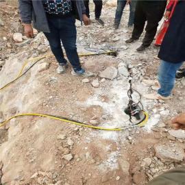采石场开采取代放炮开采岩石设备