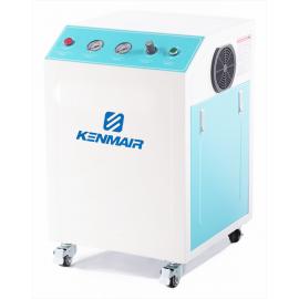 箱体式静音无油空压机实验室用静音空气压缩机KM802X无油空压机
