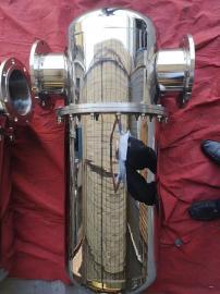 不锈钢压缩空气精密过滤器 处理量立方进出口DN65
