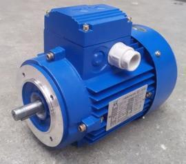 MS90S-4三相异步电机 1.1KW中研紫光电机