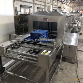 先泰循环水胶筐喷淋清洗机 自动周转筐清洗干燥设备制造商
