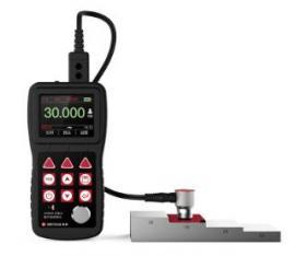 美泰彩屏穿透涂层超声波测厚仪MT600