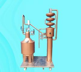 50升紫铜白兰地蒸馏 小型全自动白兰地蒸馏