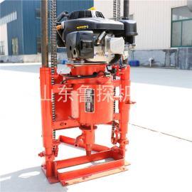汽油机款轻便浅层取样钻机鲁探QZ-2C小型30米地勘钻机