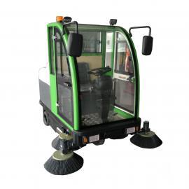 全封闭标准款电动驾驶式扫地车多功能道路清扫车