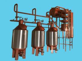 桑葚酒蒸馏机组 电磁加热环保蒸馏机组