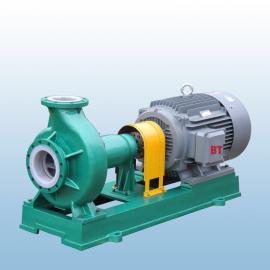 氟塑料离心泵IHF型防腐蚀耐酸碱化工泵衬四氟合金卧式工业水泵